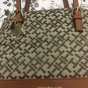 Tommy Hilfiger Handbag 9 by 12 Inches.